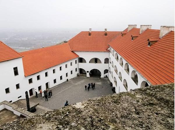 Замок Паланок в Украине