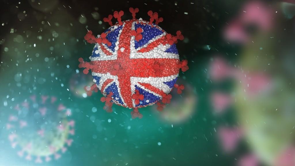 Британский штамм коронавируса