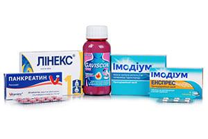 Препараты для желудочно-кишечного тракта