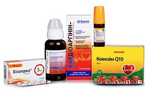 Препараты для сердечно-сосудистой системы