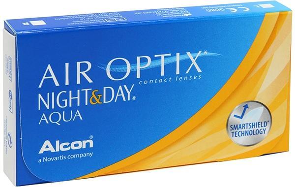 Контактные линзы Air Optix Night&Day Aqua 3 шт. 8.4 +04.00