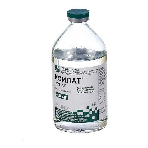 Ксилат раствор для инфузий, 400 мл