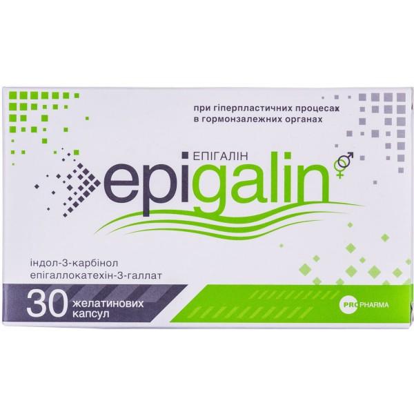 Эпигалин капсулы для нормализации функций репродуктивной системы для мужчин и женщин, 30 шт.
