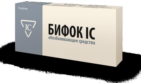 Бифок ІС таблетки обезболивающие, 10 шт.