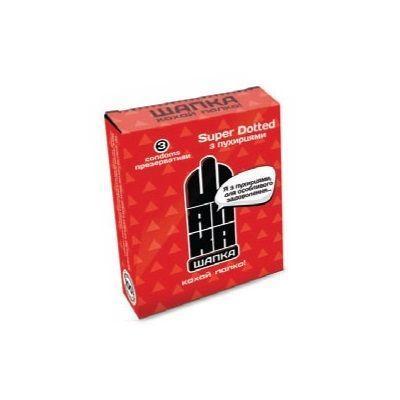 Презервативы Шапка 3 в 1 N3