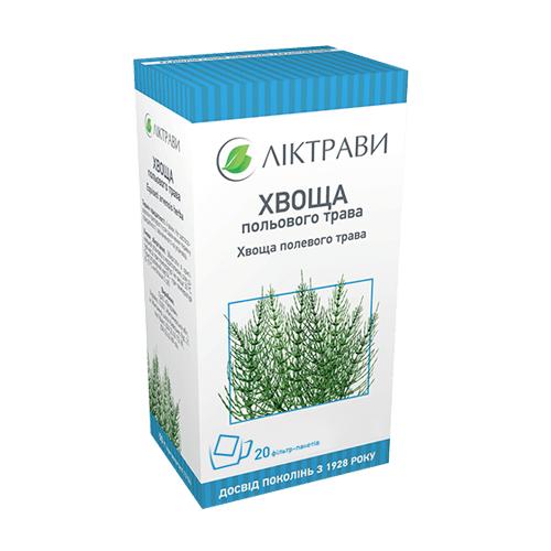 Хвоща полевого трава в фильтр пакетах по 1,5 г, 20 шт.