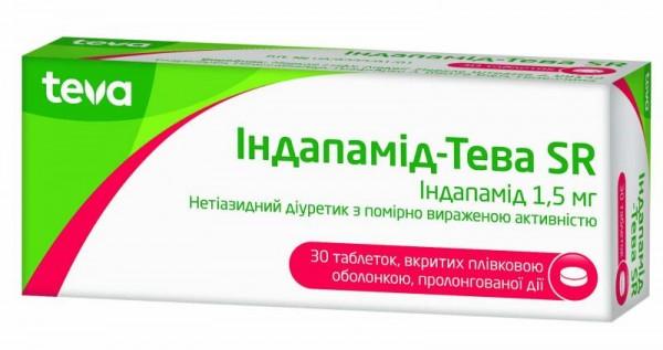 Таблетки от давления повышенного индапамид