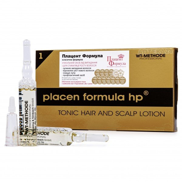 Плацент Формула средство для волос в ампулах по 10 мл, 12 шт.