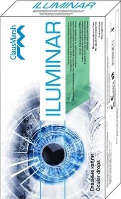 Iluminar (Илюминар) раствор офтальмологический, 10 мл