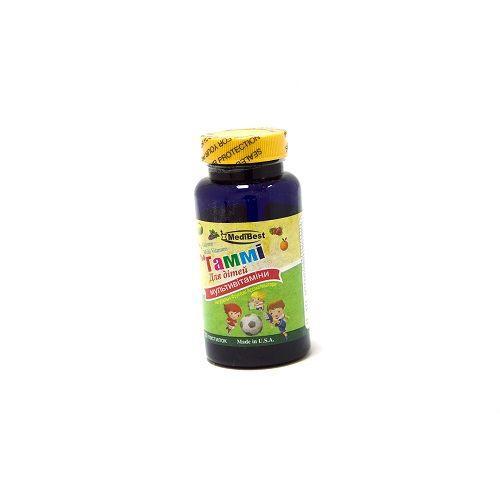 Медибест Гамми мульти витаминные пастилки жевательные N30