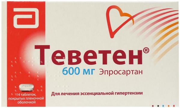 ТЕВЕТЕН ПЛЮС таблетки - инструкция по применению, цена ...