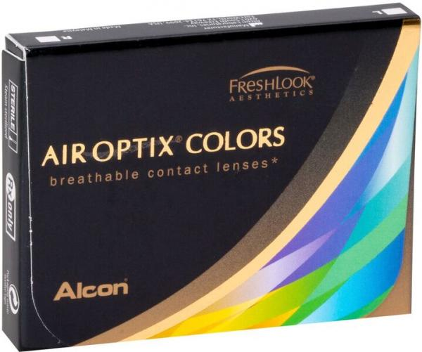 Контактные линзы AirOptix Colors 2 шт. Honey -06.00
