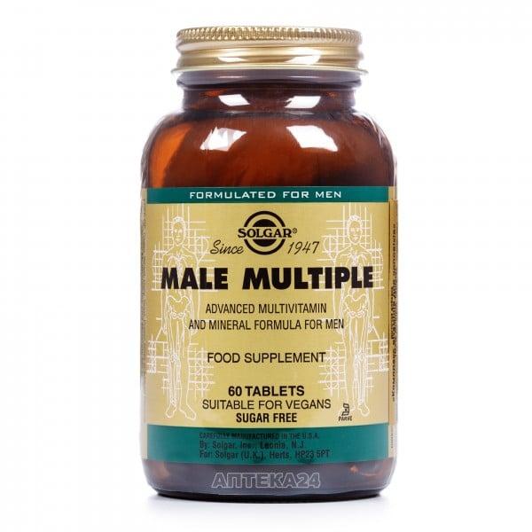 Солгар Мультивитаминный и минеральный комплекс для мужчин таблетки, 60 шт.