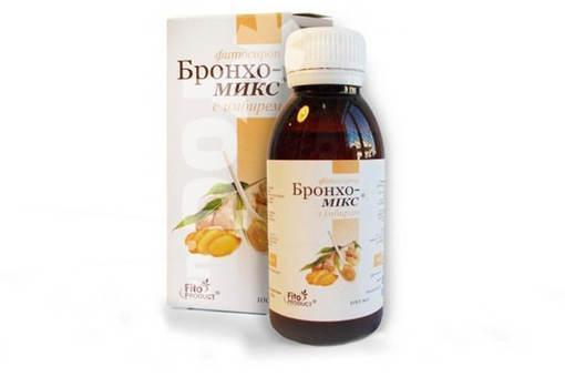 Бронхо-Микс 100 мл с имбирем фитосироп Спец