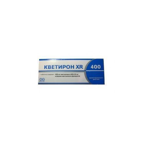 Кветирон XR 400 400 мг №30 таблетки