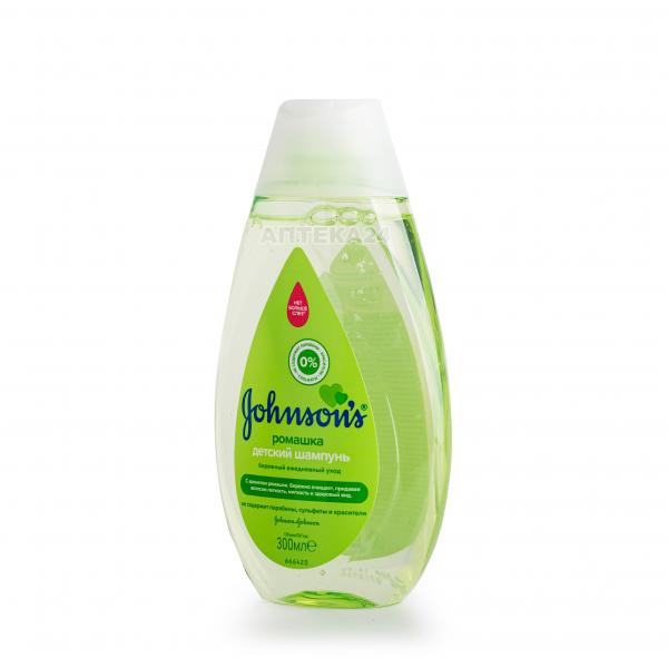 JOHNSON'S® для детей Ромашка 300 мл шампунь для волос