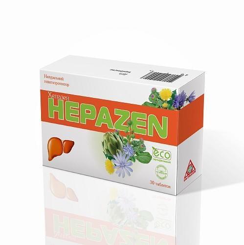 Хепазен №30 таблетки диетическая добавка