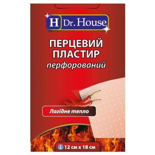 Лейкопластырь H Dr.House 12х18 см перцовый