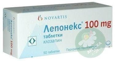 Лепонекс таблетки 100 мг N50