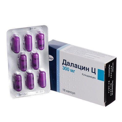 Далацин Ц капсулы по 300 мг, 16 шт.