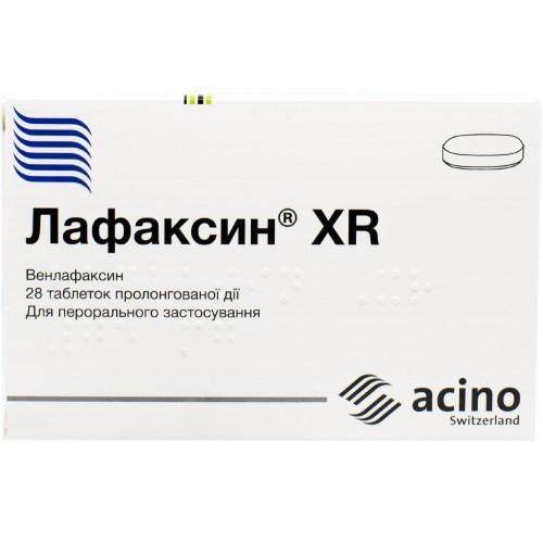 Лафаксин XR таблетки пролонгированного действия 150 мг №28
