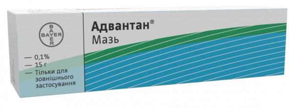 Адвантан мазь 0,1%, 15 г