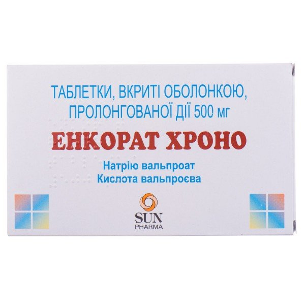 Энкорат Хроно таблетки по 500 мг, 30 шт.