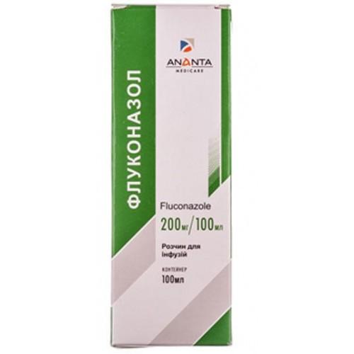 Флуконазол раствор 200 мг, 100 мл