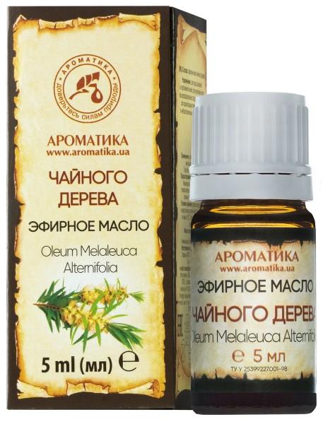 Эфирное масло чайного дерева, 5 мл