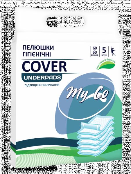 Пеленки гигиенические MyCo Cover 60х60см N5