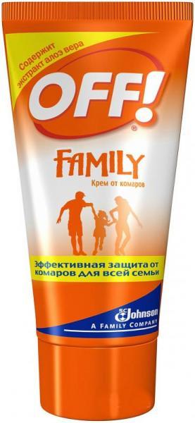 OFF Family Крем после укусов комаров 150 мл