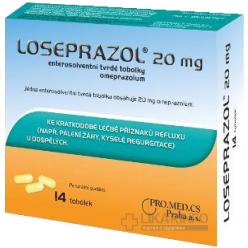 Лосепразол 20 мг N14 капсулы