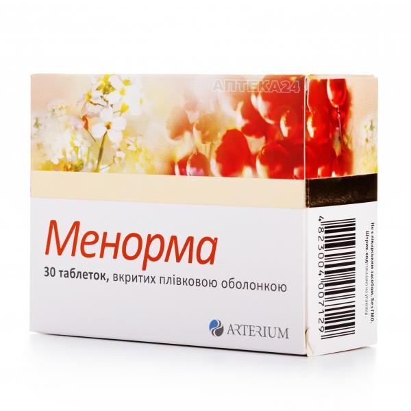 Менорма таблетки по 735 мг, 30 шт.