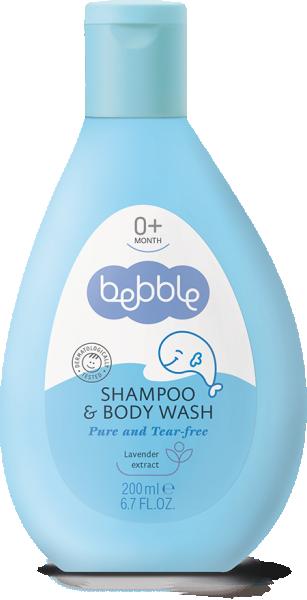 Bebble Детский шампунь для волос и тела 200 мл