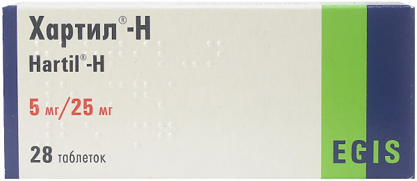 ХАРТИЛ-Д таблетки - инструкция по применению, цена ...