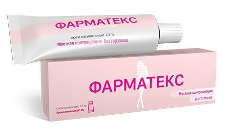Фарматекс крем вагинальный противозачаточный, 72 г