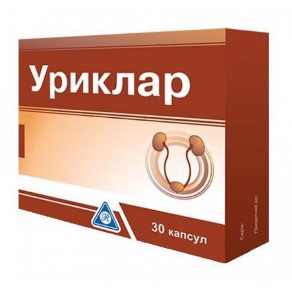 Уриклар N30 капсулы