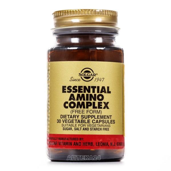 Солгар Комплекс основных аминокислот, капсулы, 30 шт.