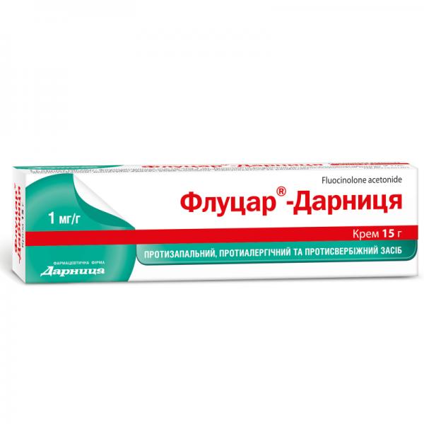 Флуцар-Дарница крем, 15 г