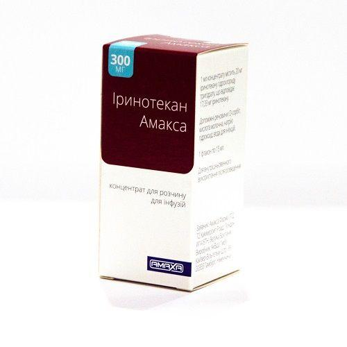 Иринотекан Амакса 300 мг 15 мл N1 концентрат