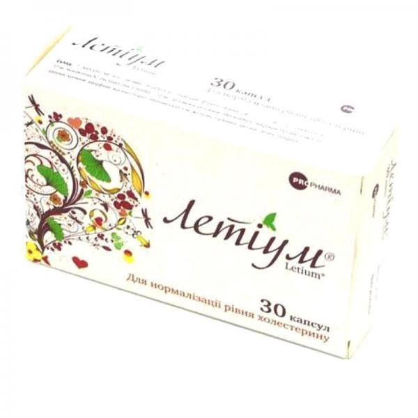Летиум №30 капсулы