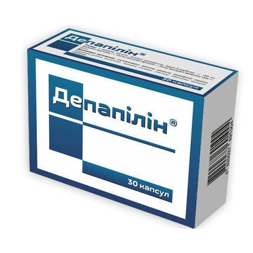 Депапилин диетическая добавка капсулы по 420 мг, 60 шт.