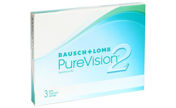 Контактные линзы PureVision 2 6 шт. 8.6 -04.00