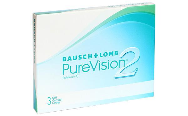 Контактные линзы PureVision 2 6 шт. 8.6 +04.50