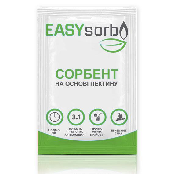 Сорбент EASYsorb на основе пектина N10 саше диетическая добавка