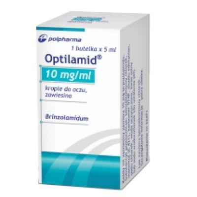 Оптиламид капли для глаз, 10 мг/мл, 5 мл