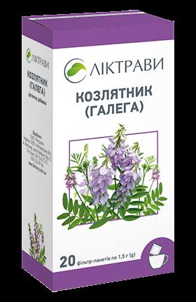 Фиточай Козлятник (Галега) по 1,5 г в фильтр-пакетах, 20 шт.
