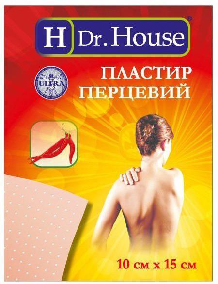 H Dr.House 10х15 см лейкопластырь перцовый