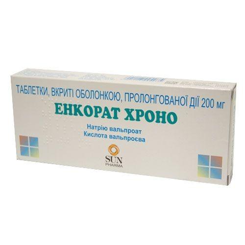 Энкорат Хроно таблетки по 200 мг, 30 шт.