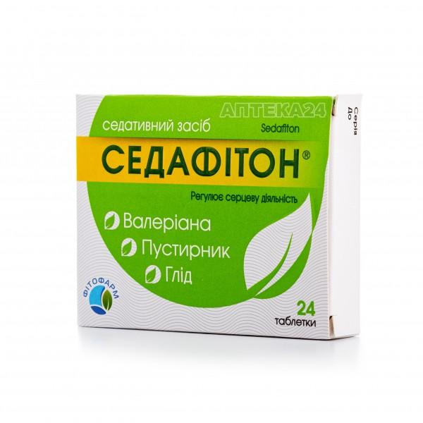 Седафитон таблетки, 24 шт.